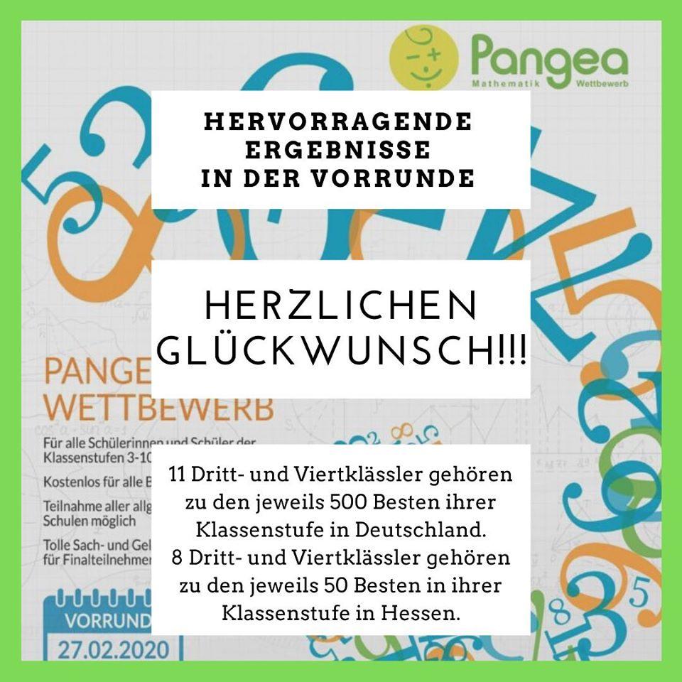 Pangea-Gewinner